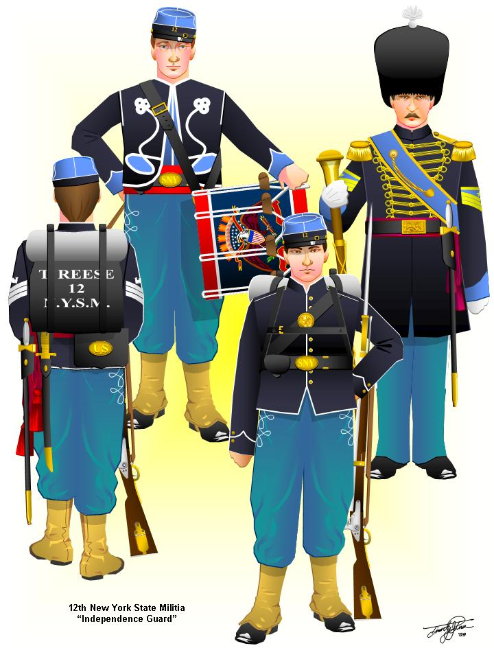 French And Indian War Provincial Uniforms Uniforms and flags of the