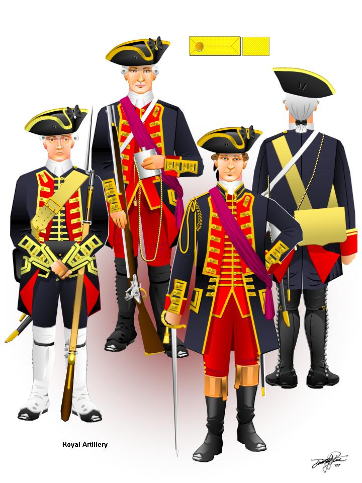 French And Indian War Provincial Uniforms Uniforms of the french and