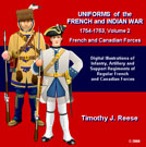 SAMPLE PLATE: Uniforms of the French and Indian War, 1754-1763