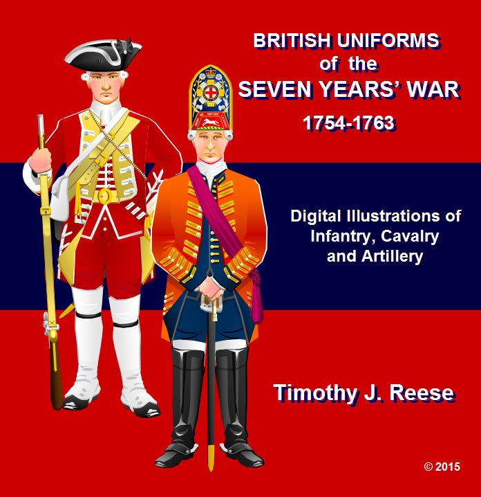SAMPLE PLATE:British Uniforms of the Seven Years' War, 1756-1763